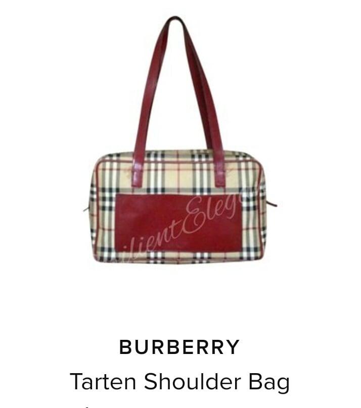 Image of Burberry Haymarket Tarten/ Burberry Sunglasses