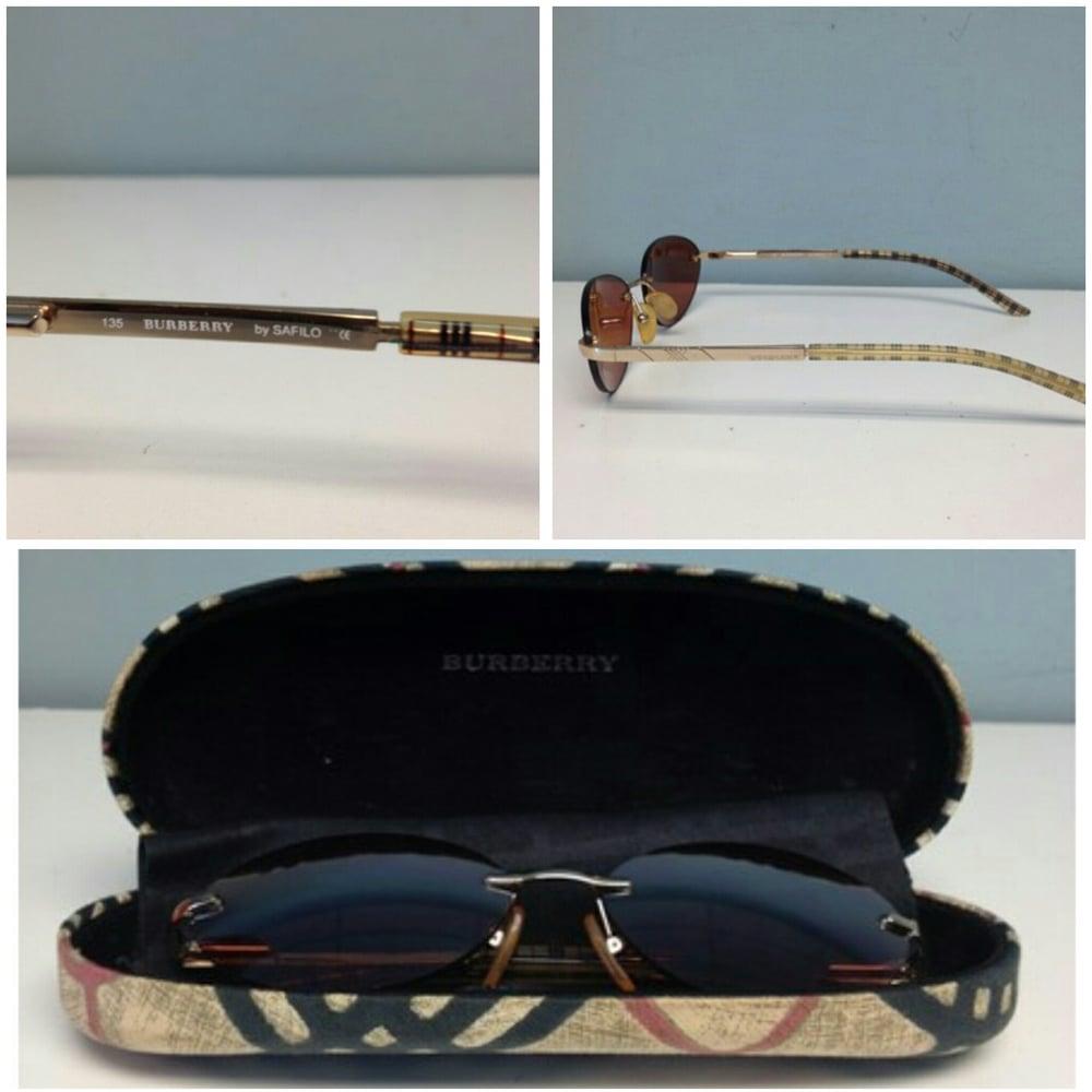 Image of Burberry Haymarket Tarten & Burberry Sunglasses