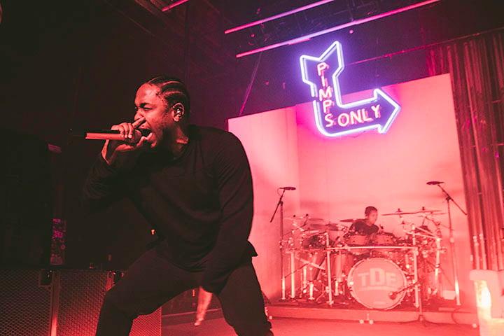 Kendrick Lamar in Philadelphia