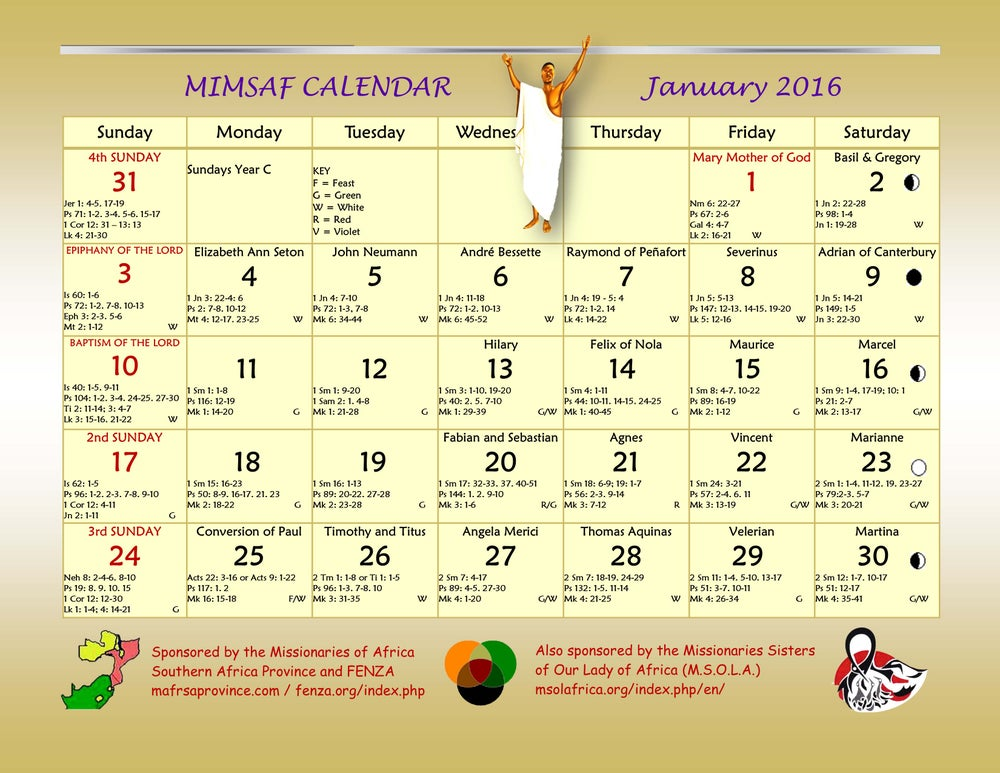 Image of Download Calendar 2013 South Africa