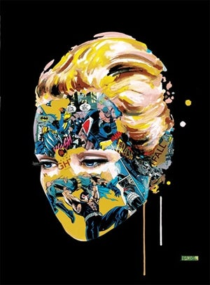 Image of Sandra Chevrier - Dark Heart White & Black