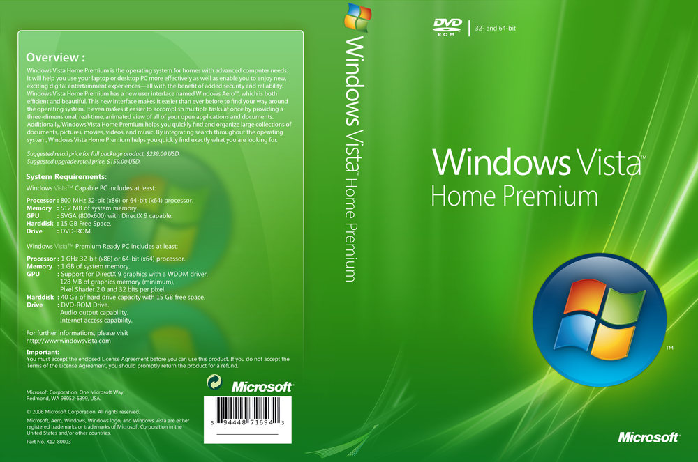 microsoft windows vista home premium product activation key