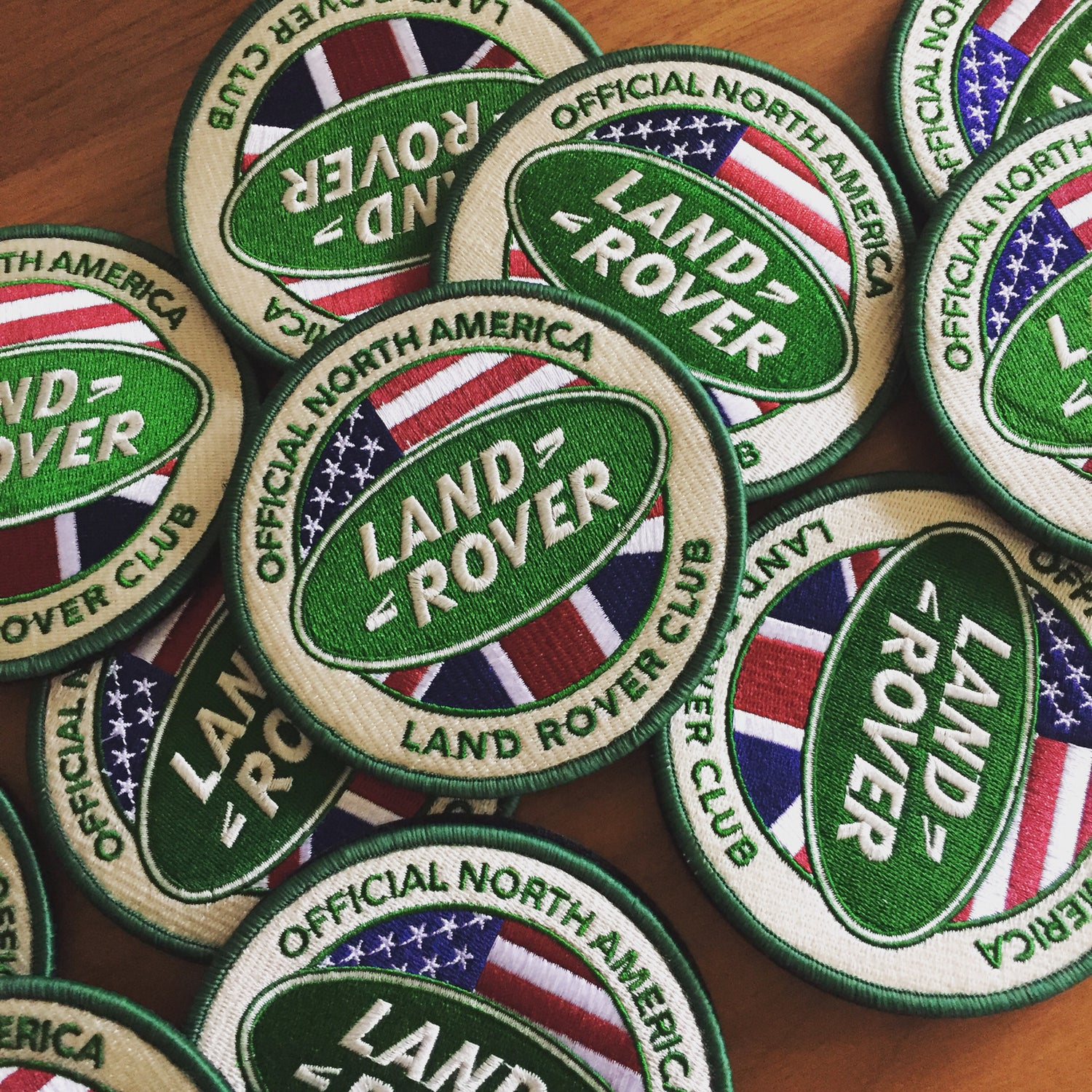Image of North America Land Rover Patch