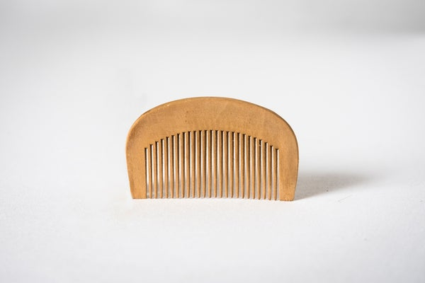 Image of Handmade Wooden Comb