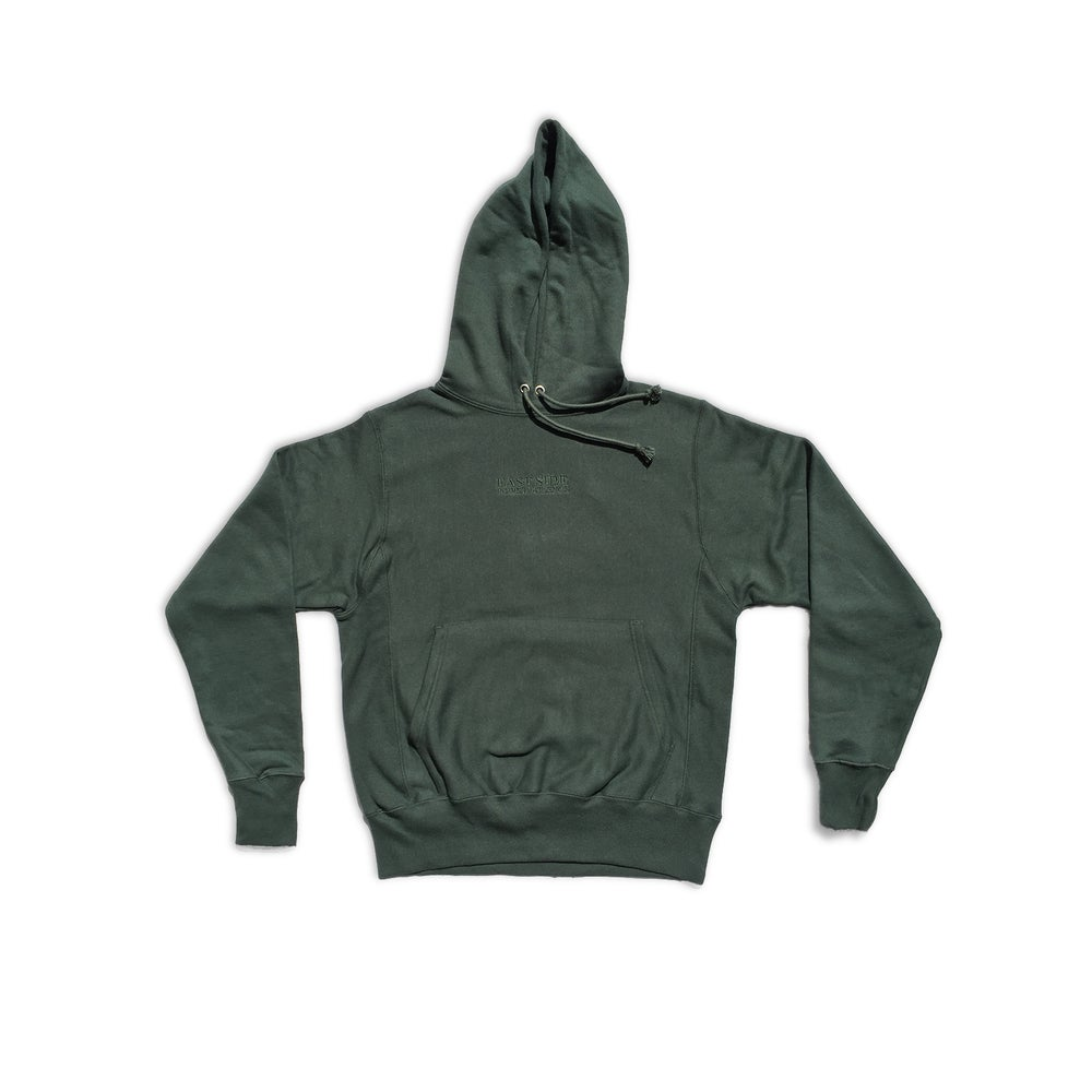 Image of East Side Powerviolence 'Algorid' Hoodie (Hunter Green)