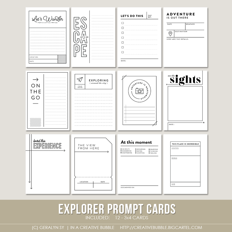 Image of Explorer Prompt Cards (Digital)