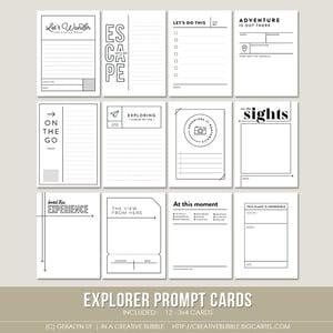 Image of Explorer Prompt Cards (Digital)