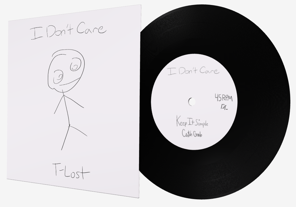 """Image of I Don't Care - Limited Edition 7"""""""