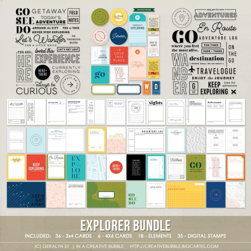 Image of Explorer Bundle (Digital)