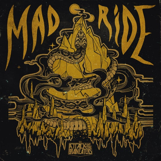 Image of DF:007 The Attack Of The Brain Eaters - Mad Ride 7""