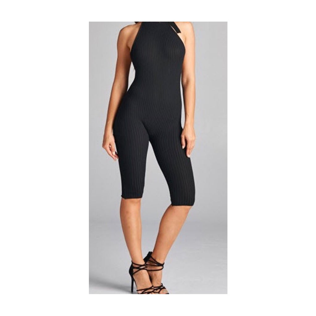 Image of Enticing Halter Jumpsuit