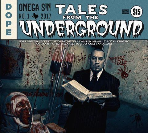 """Image of """"Tales From The Underground"""" Album with Signed poster"""