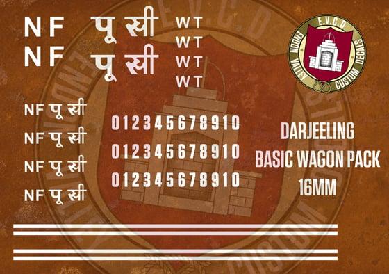 Image of Darjeeling Basic Wagon Pack 16mm
