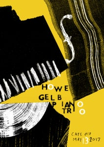 Image of Howe Gelb Piano Trio Poster