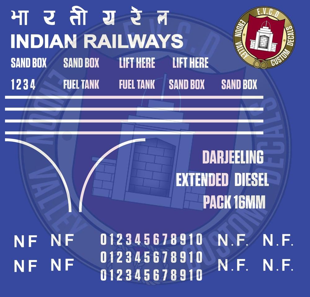 Image of Darjeeling Diesel Extended Pack 16mm