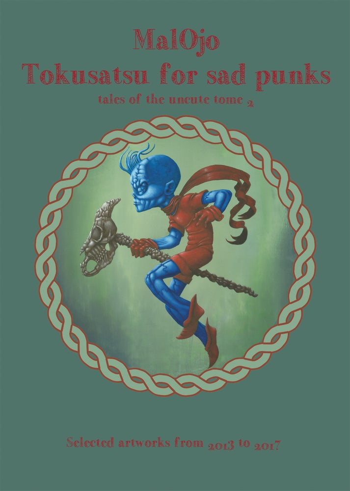 "Image of Malojo artbook "" Tokusatsu for sad punks"""