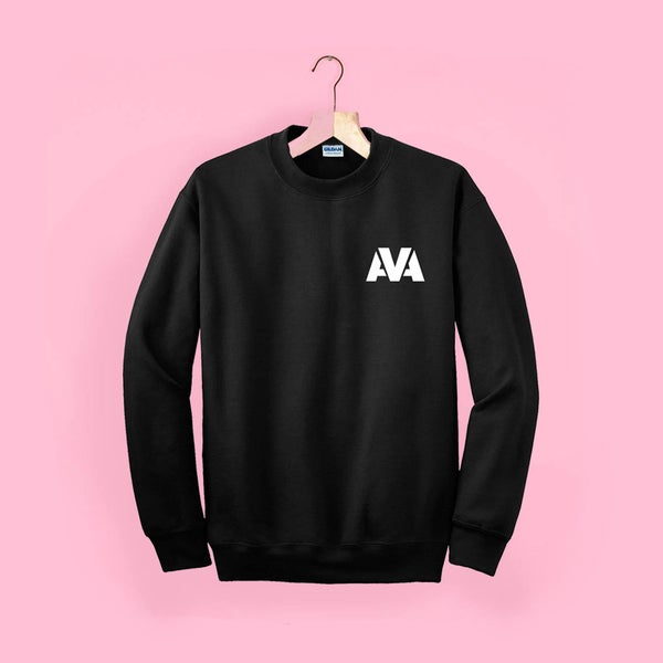 Image of AVA Classic Sweater - Black