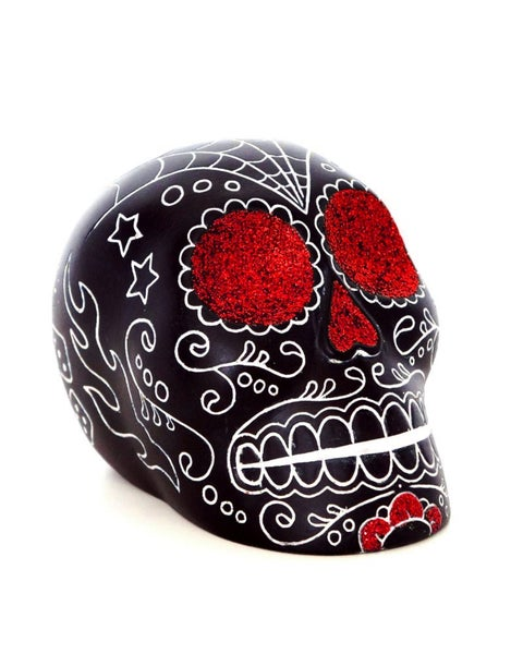 Image of Calaca glitter rojo