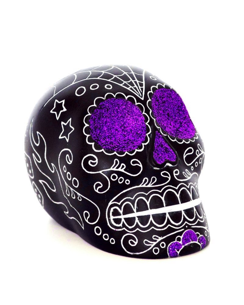 Image of Calaca violet glitter