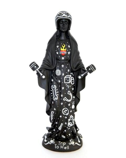 Image of Virgen de los pistones B/W edition