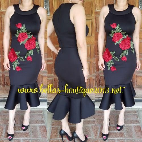 Image of Jacqueline Flower Dress
