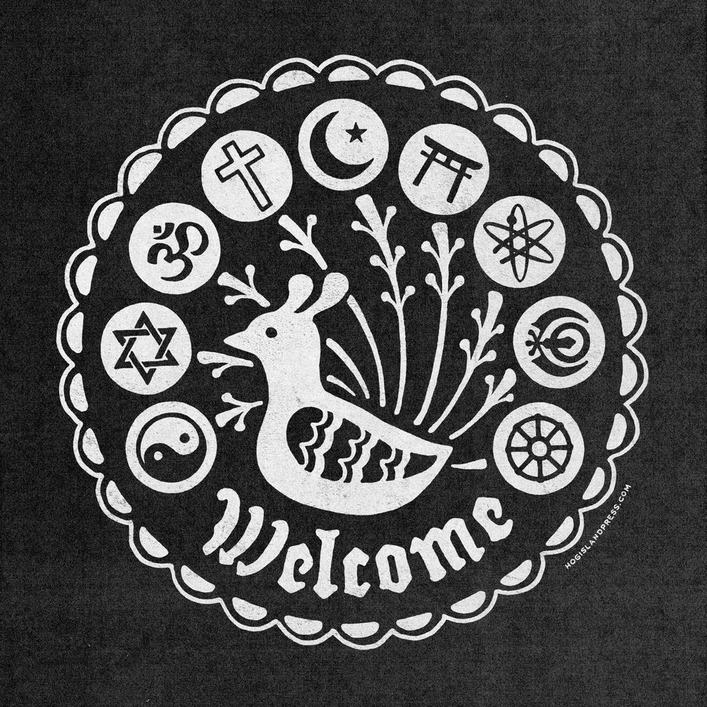 Image of Welcome Hex Tote
