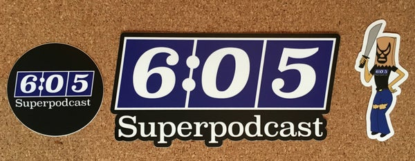 Image of Superpodcast Sticker Set
