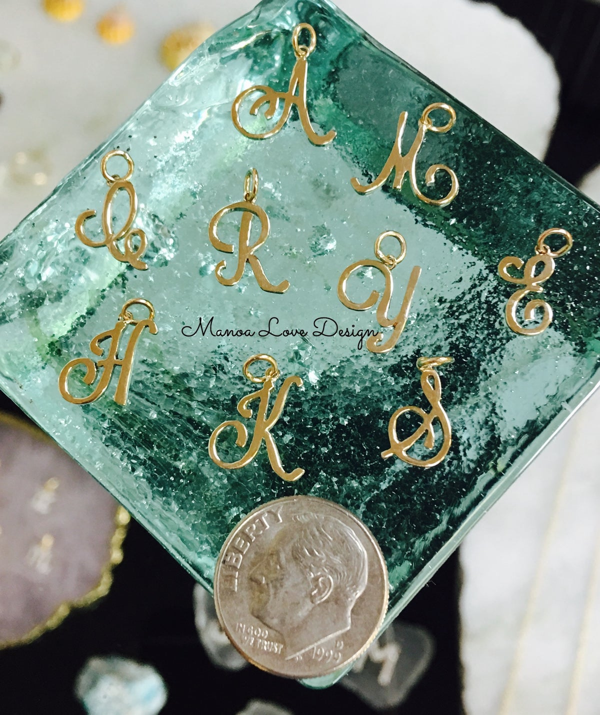 Image of personalized initial