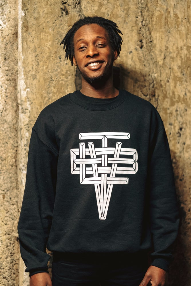 Image of Beatville Crewneck (Black)