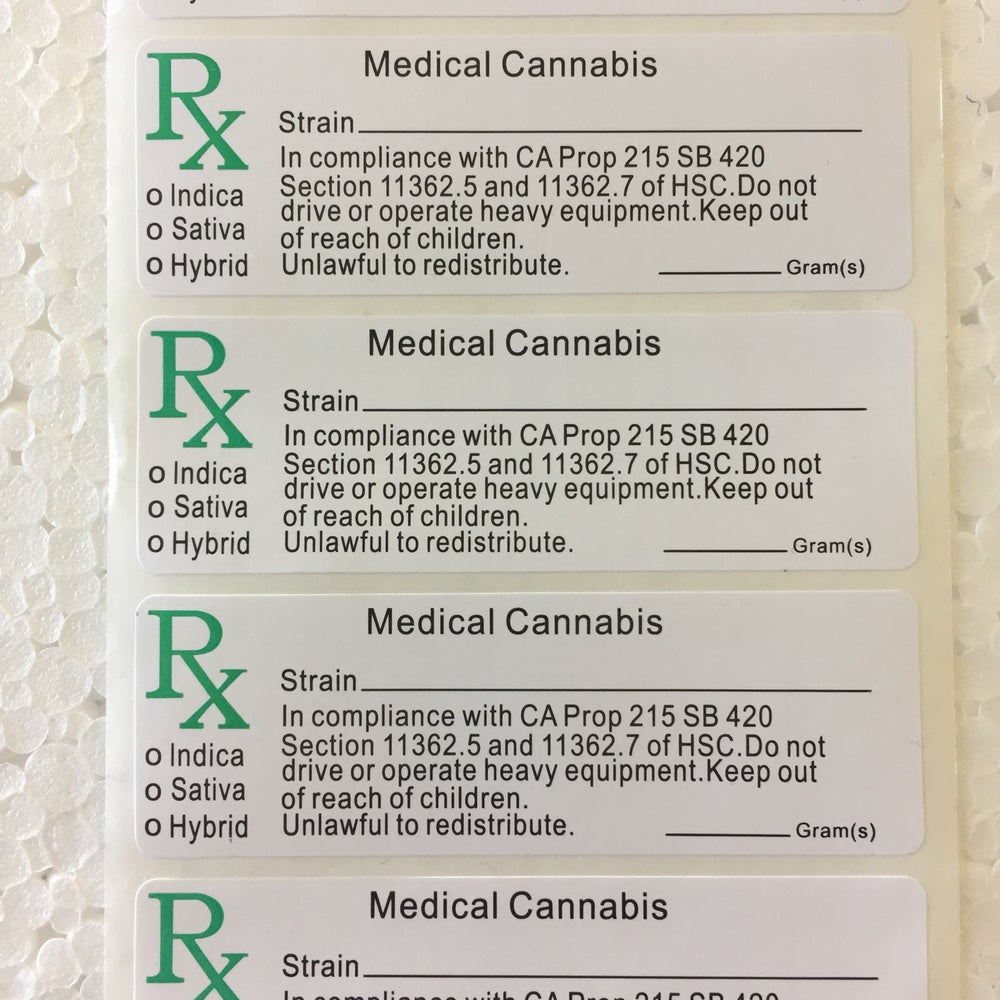 Image of RX Medical Stickers
