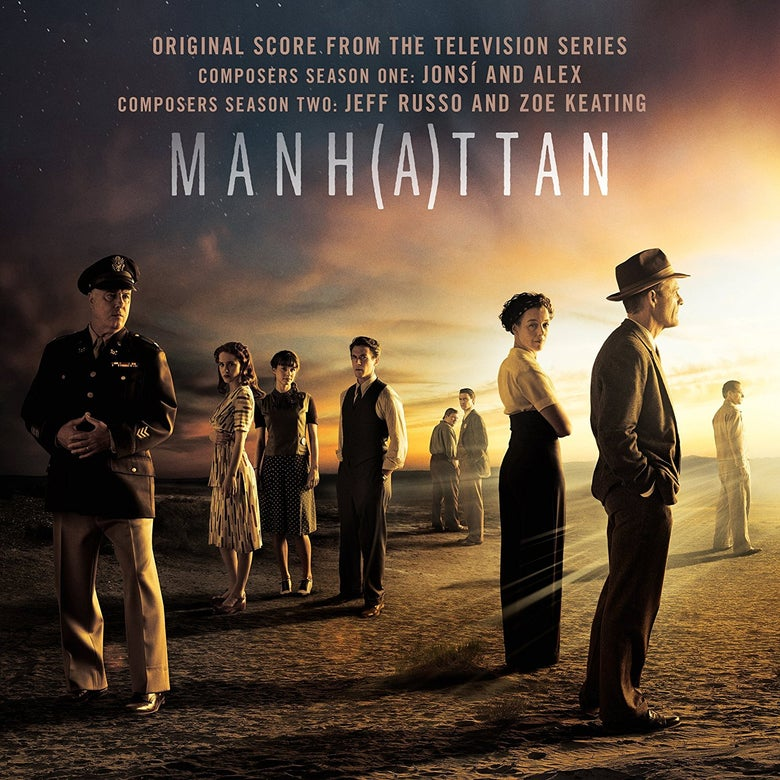 Image of Manhattan (Original Score From The Television Series) CD - Jonsi & Alex // Jeff Russo & Zoe Keating