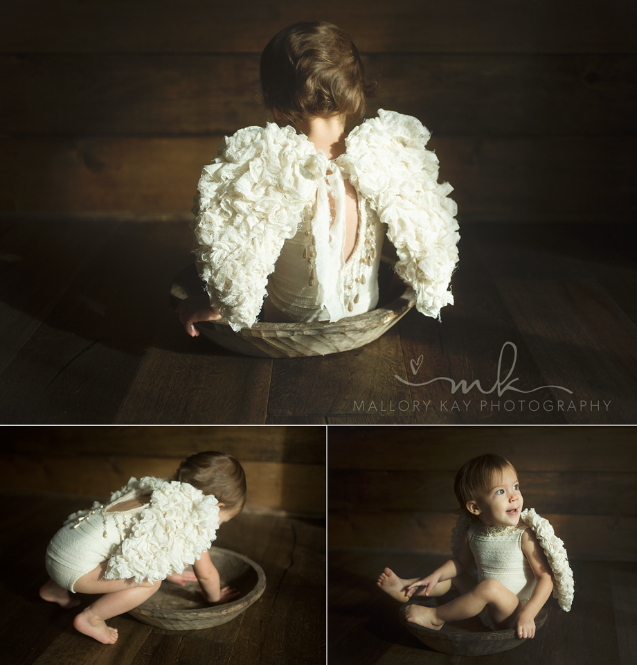 Image of THE ORIGINAL {RUFFLED LITTLE ANGEL } SET