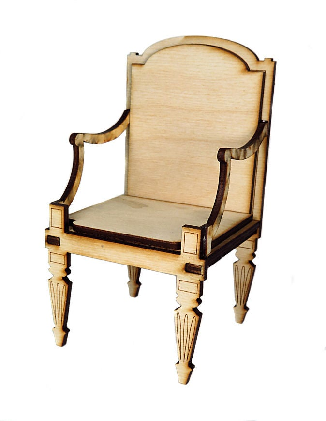 Image of Furntiture Wood Kits- French Chair
