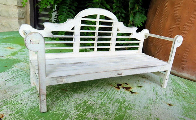 Image of Furniture Wood Kits-Lutyens Garden Bench