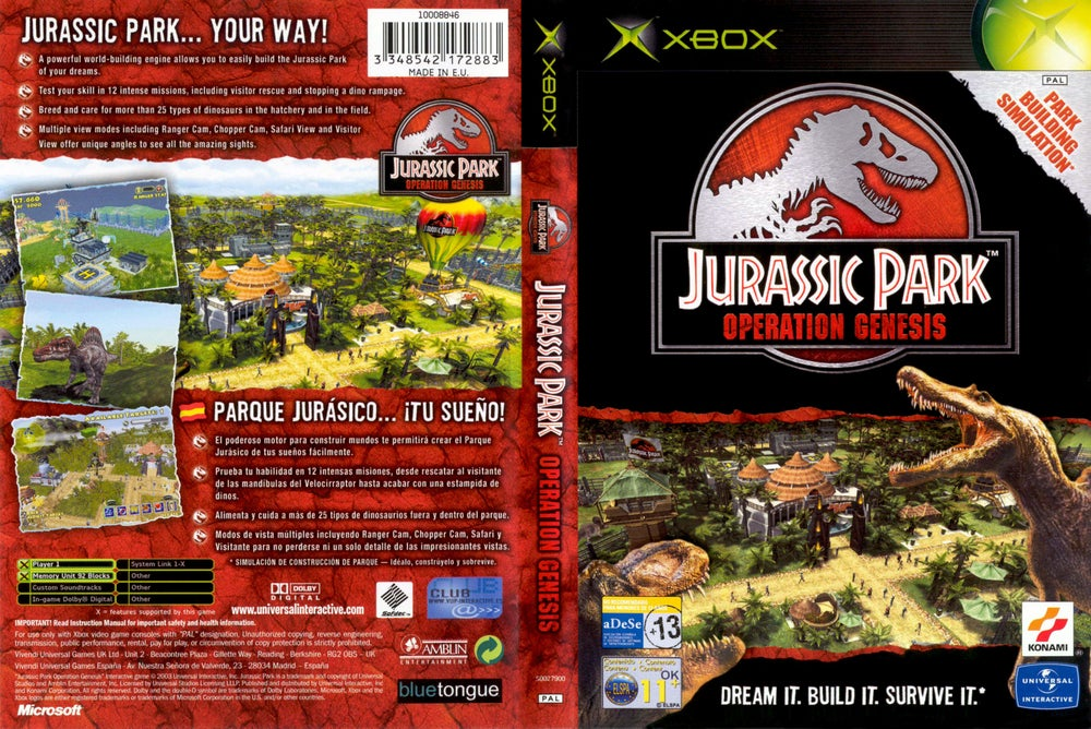 jurassic park pc game highly compressed free download