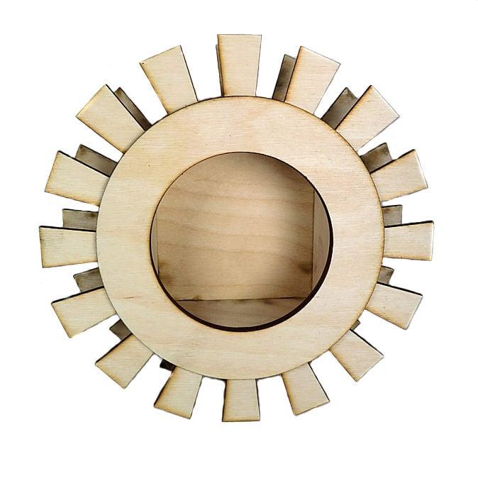 Image of Wood Shrine Kit- Frida's Aztec Sun