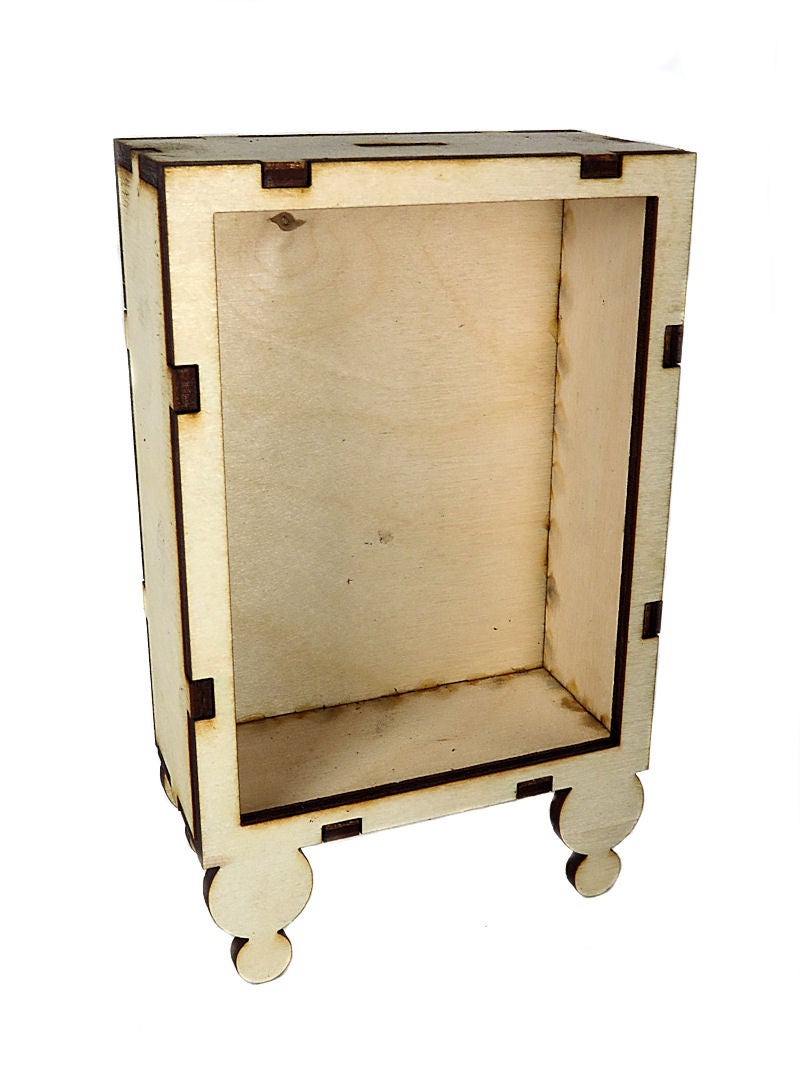 Image of Wood Shrines- ATC Size-Ball Leg Shrine
