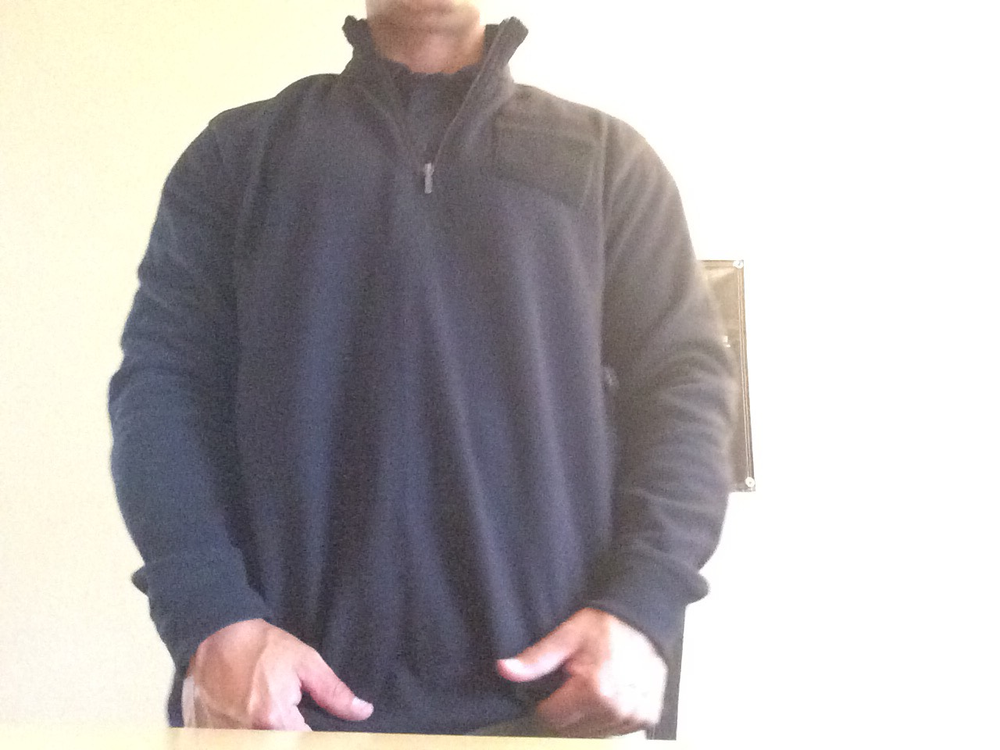 Image of 1/4 zip sweatshirt