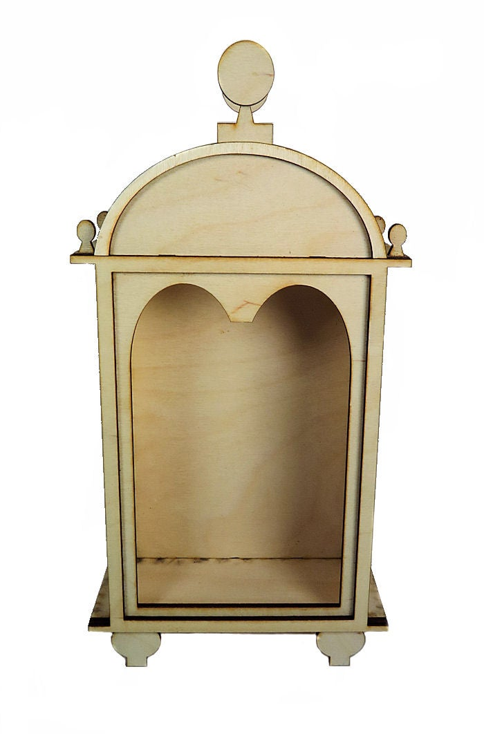 Image of Wood Shrines- Large- Grecian Shrine