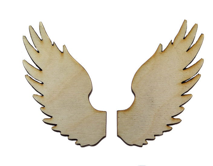 Image of Wooden Icons- Split Wings