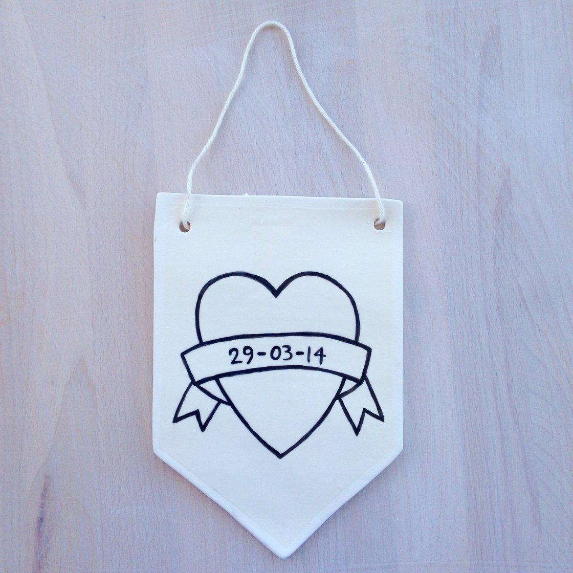 Image of Custom Heart Wall Hanging