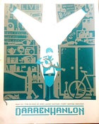 Image of Darren Hanlon Tour Screen Print