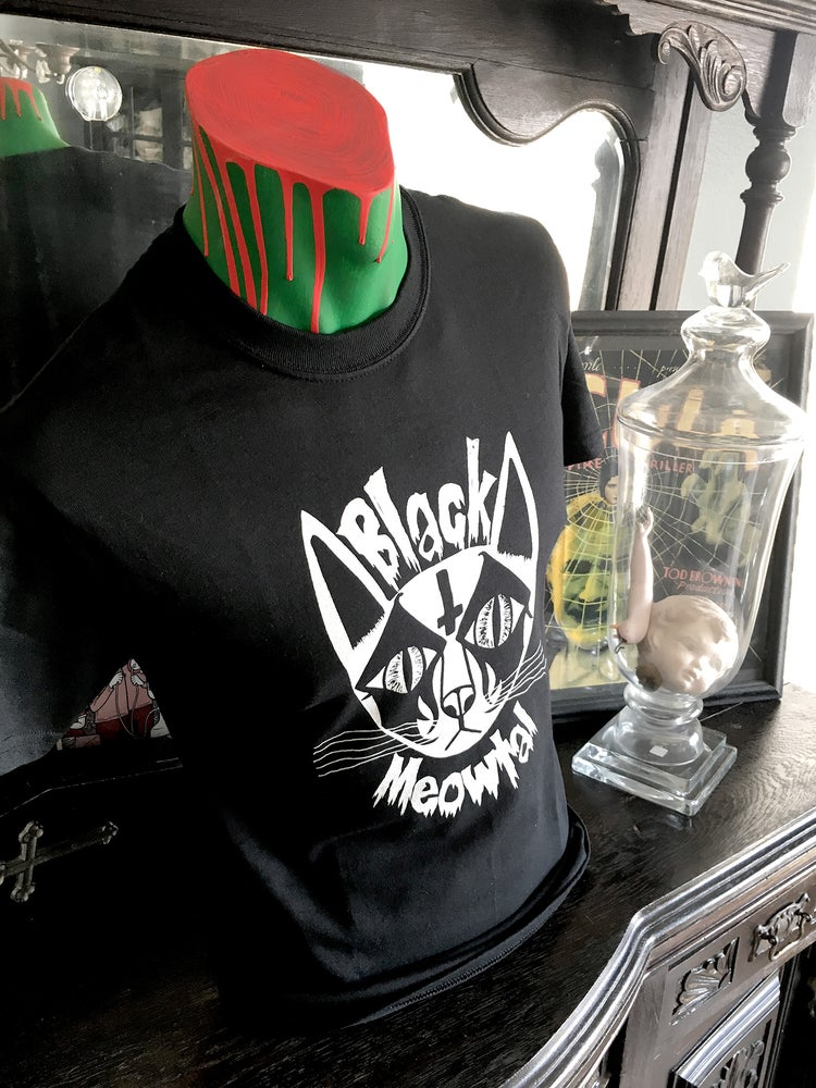 "Image of ""Black Meowtal"" T-Shirt"