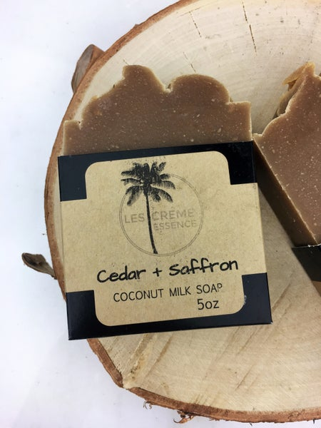 Image of Cedar + Saffron Coconut Milk Soap