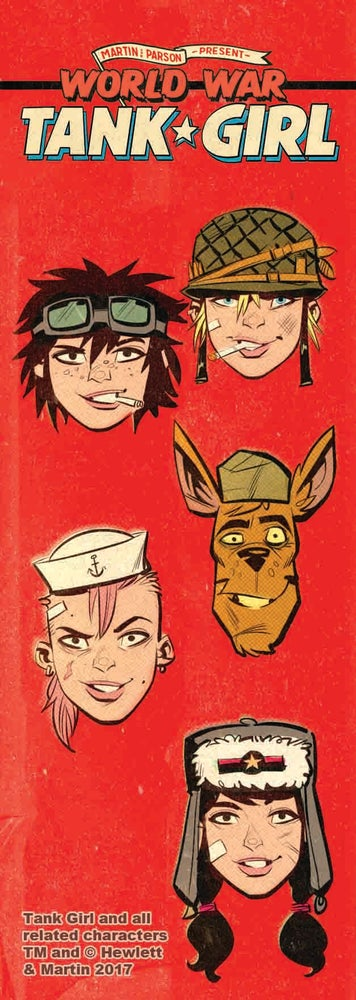 Image of World War Tank Girl Poster Magazine Special