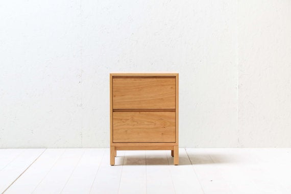 Image of HedgeHouse Solid Cherry Nightstand