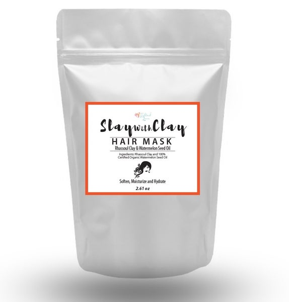 Image of Rhassoul Clay & Watermelon Seed Oil Hair Mask