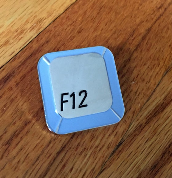 Image of F-12 LAPEL PIN