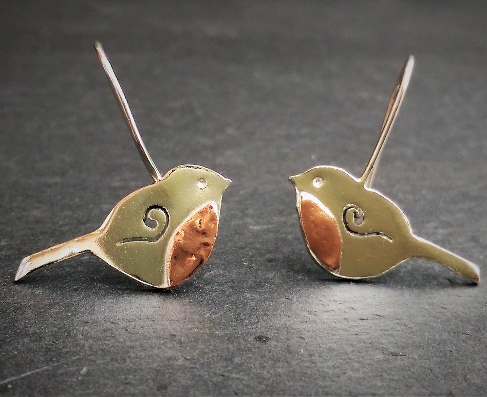 Image of Robin Dangle Earrings