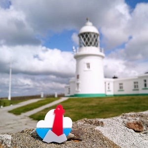 Image of Lighthouse Brooch